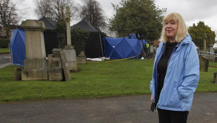 JOBBER FOR OVERGREPSOFRE: Sandra Brown er tidligere k�ret til �rets kvinne i Skottland og hun har ogs� blitt hedret av dronningen med en OBE-tittel for arbeidet. Foto: DAVID MOIR / REUTERS / NTB SCANPIX