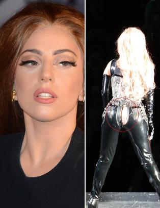 Her viser Lady Gaga (26) mer enn hun hadde tenkt