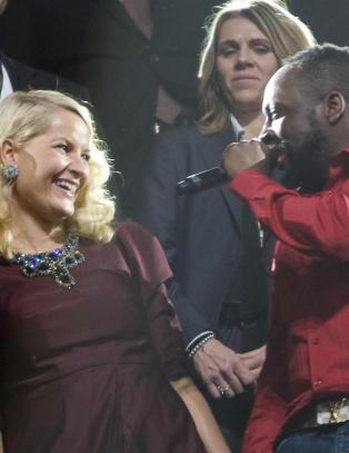 Wyclef: - Ta med danseskoa, Mette-Marit!
