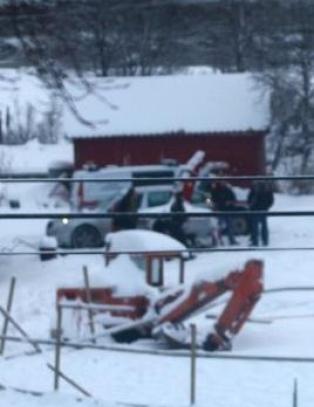 V�pnet politiaksjon da sju hester ble hentet