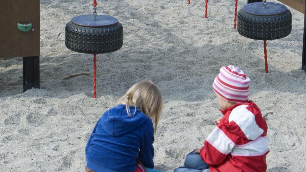 I UTAKT: - Vi har de siste �rene klart � stappe stadig flere ett�ringer inn i barnehagene, men altfor f� kompetente ansatte har steppet inn. Heldigvis finnes det skogsarbeidere som tar ansvar for den psykiske helsen til barna v�re, skriver artikkelforfatteren. Foto: Heiko Junge / NTB Scanpix