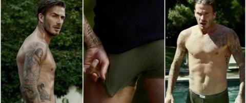 Her er videoen hvor David Beckham �mister� kl�rne