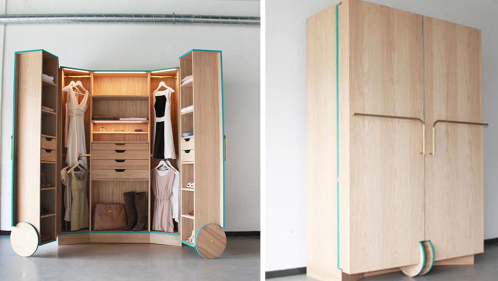 Jo da, du kan få plass til en walk in garderobe