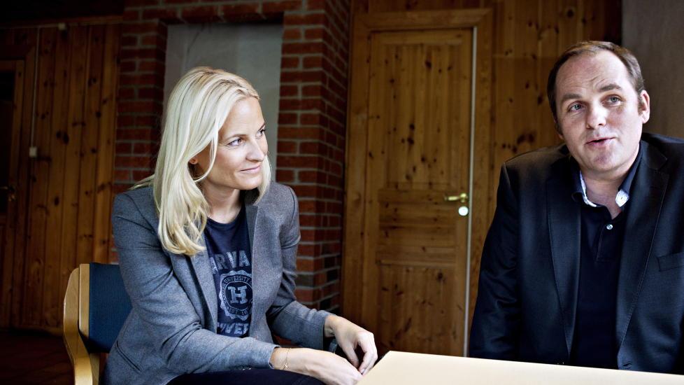 TETTERE SAMARBEID: Kronprinsesse Mette-Marit og Ole-Edvard Wold-Reitan er n�re venner. N� er han kronprinsessens nye r�dgiver. Foto: Foto: HANSEN NINA / Dagbladet