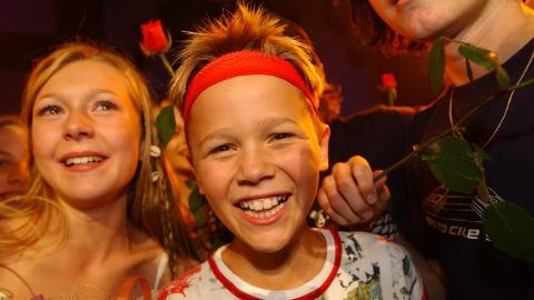 UNG ARTIST: I 2003 vant Haukaas Melodi Grand Prix Junior-finalen. Nå er han låtskriver for andre artister, og har akkurat tatt skrittet opp i toppdivisjonen. Foto: ANDREA GJESTVANG