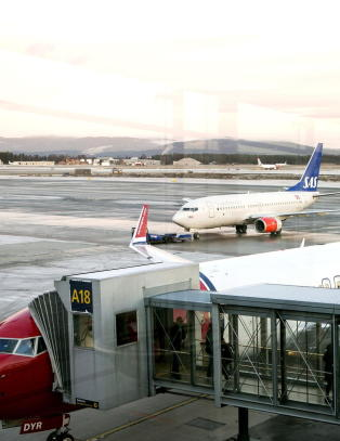 SAS har skyld i kollisjon med Norwegian-fly