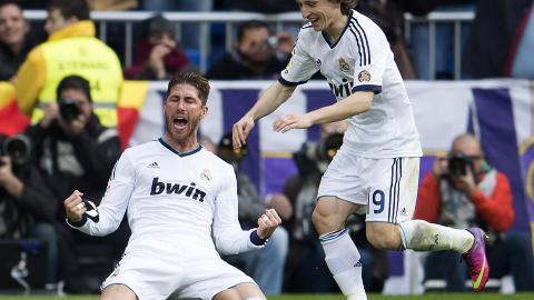 SCORET:  Sergio Ramos. Foto:   AFP PHOTO/ DANI POZO