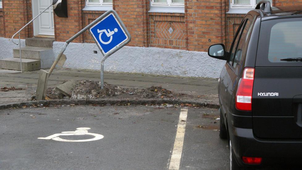 ETTERTRAKTET:  Ledige parkeringsplasser er ettertraktet, og dermed oppst�r et marked. Illustrasjonsfoto: Colourbox.