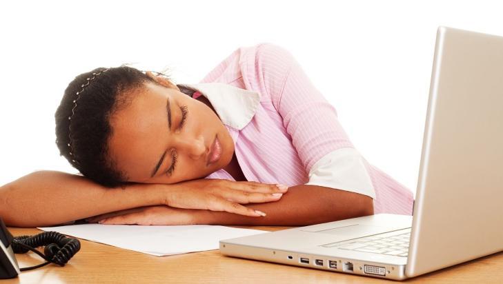 TR�TT P� JOBB: Er man B-menneske, kan det v�re vanskelig � f� gjort det man skal i l�pet av arbeidsdagen.  Illustrasjonsfoto: Colourbox