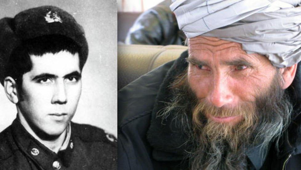 F�R OG ETTER 33 �R I AFGHANISTAN: Han kalte seg Bakhretdin Khakimov da han dro ut som sovjetisk soldat. Da han ble funnet i Afghanistan i �r kalte han seg Sheik Abdullah. Foto: Warriors-Internationalists Affairs Committee
