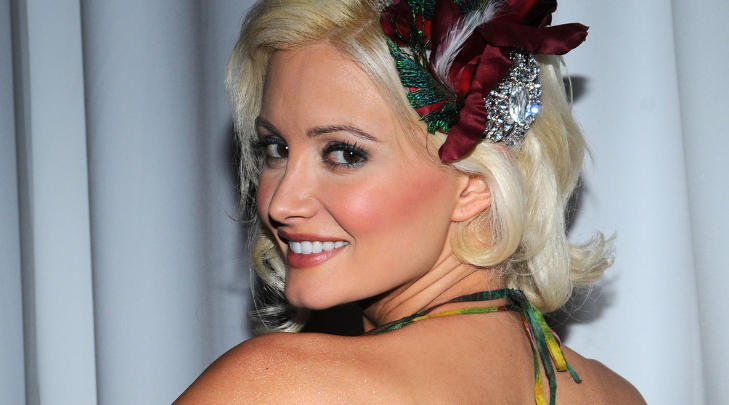 ENDELIG BLITT MAMMA: Tidligere playboy-modell Holly Madison har blitt mamma til en jente. Foto: Stella Pictures