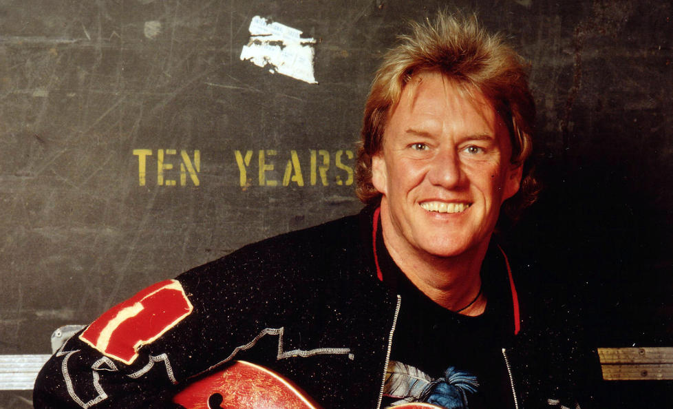 D�D: Den britiske gitaristen Alvin Lee, som er best kjent for sin opptreden med bandet Ten Years After p� Woodstock-festivalen, er d�d, 68 �r gammel. Foto: AP Photo / Courtesy Ron Raine / NTB Scanpix