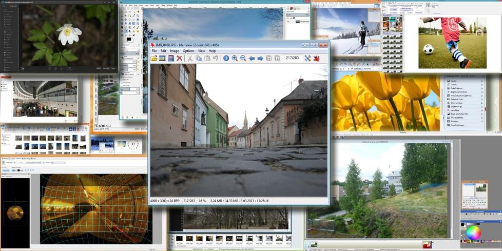 GRATIS: Nettet flommer over av gratis programvare. Her er 15 av v�re favoritter blant gratis fotoprogrammer.