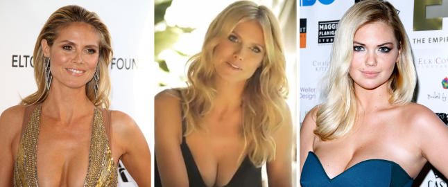Heidi Klum (39) gjr som Kate Upton (21)