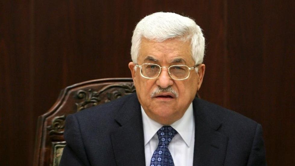 FORN�RMET:  President Mahmoud Abbas reagerer sterkt p� parodiering. FOTO: EPA/NTB Scanpix.