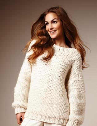V�rens fineste genser strikker du p� rekordtid