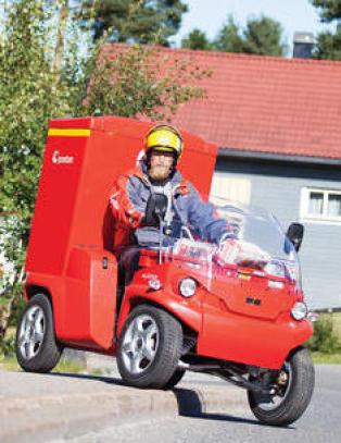 Postman Pats nye bil kan komme fra �stfold