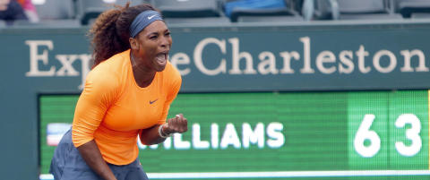 Serena Williams sikret sin 49. tittel