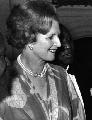 Margaret Thatchers liv i bilder