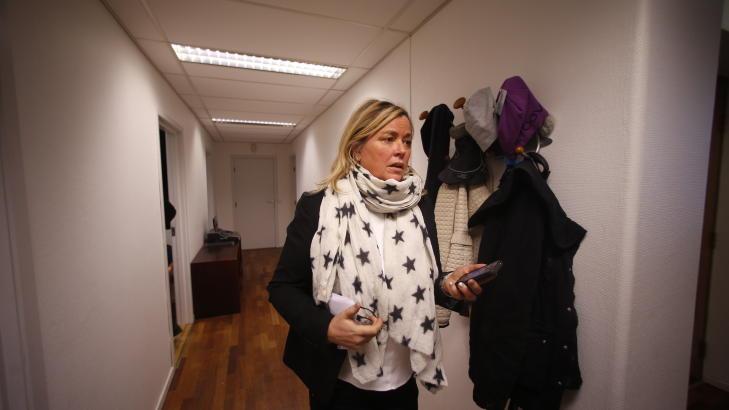 FORSVARER: Aase Karine Sigmond. Foto: Bj�rn Langsem / Dagbladet