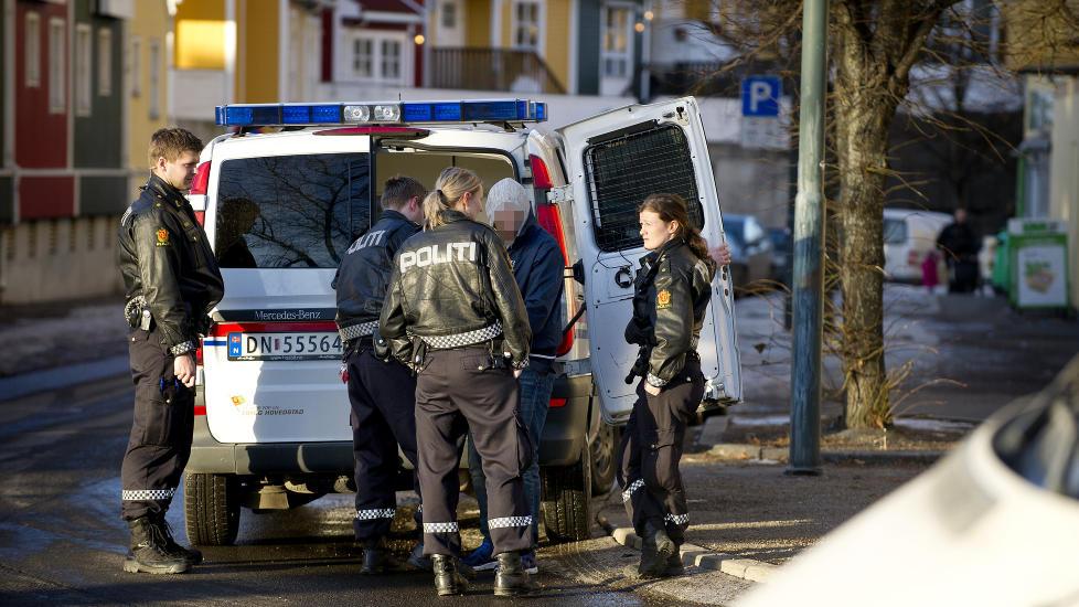 PÅGREPET: Roland ble pågrepet i mars i år da politiet oppdaget at han hadde brutt innreiseforbudet. Foto: Øistein Norum Monsen / Dagbladet