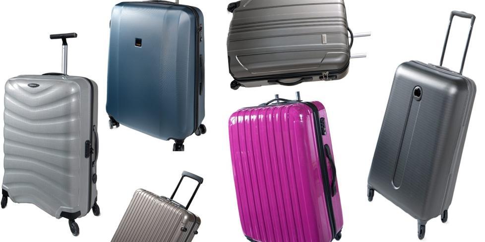 M� T�LE MYE: En god koffert skal t�le fall fra bagasjevogner, kasting inn i lasterom og fall ned fra rulleb�ndene. FOTO: Produsentene.