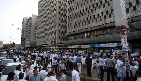 Stort jordskjelv i Iran: FRYKTER FLERE HUNDRE DREPT