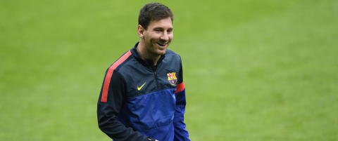 Messi starter mot Bayern Mnchen