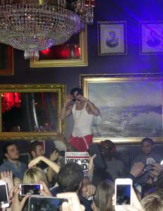 Slik festet Justin Bieber i Stockholm i natt
