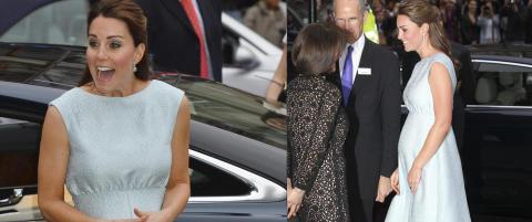N� klarer du ikke � gjemme magen lenger, Kate