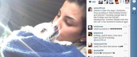 Aylar Lie har funnet igjen chihuahuaen sin