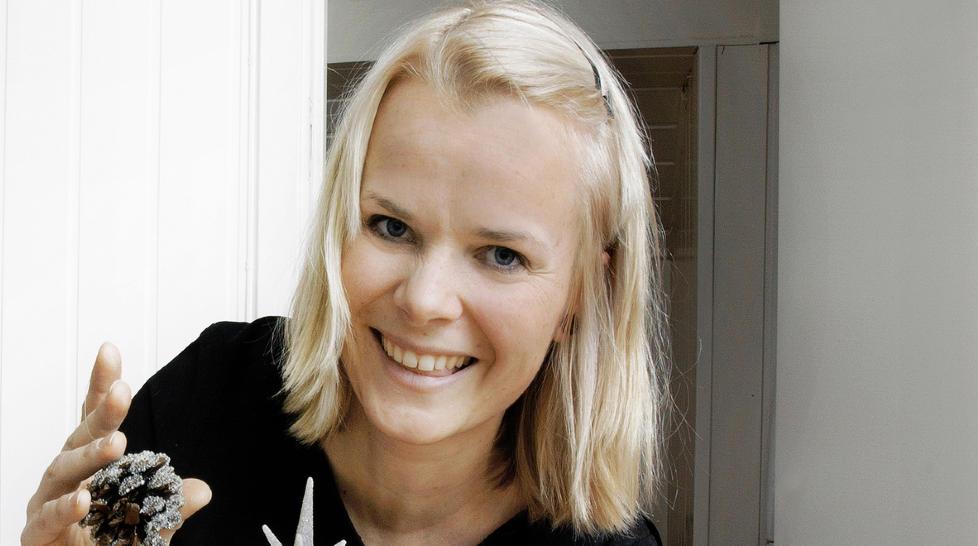 NY I «NYTT PÅ NYTT»:  Ingrid Gjessing Linhave, programleder I NRK, tar over etter Linn Skåber i «Nytt på Nytt».  Foto: Nina Ruud