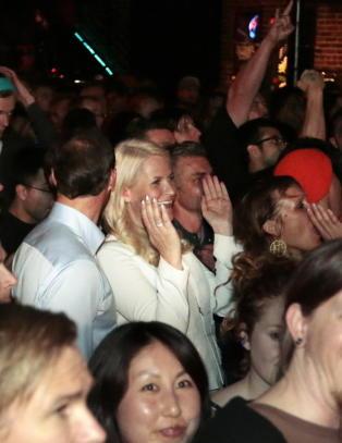 Mette-Marit slo ut h�ret p� Kvelertak-konsert i USA