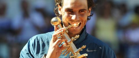 Nadal med trippelseier i Madrid