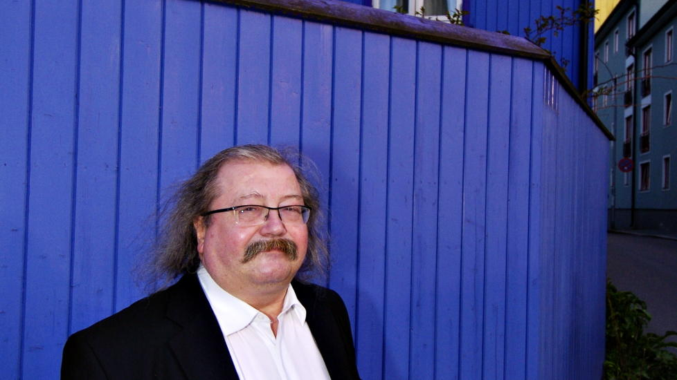 HAR G�TT BORT: Jon Bing. Foto: EIK,ROBERT S.