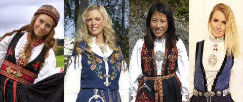 �n av dem er Norges vakreste bunad