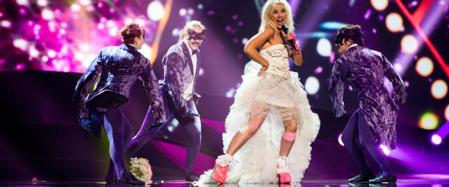 Hele Norden samlet i Eurosong-finalen