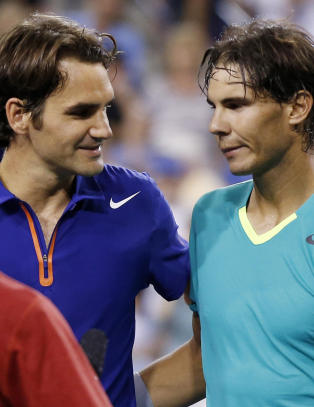 Nadal knuste Federer i supermtet