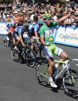 Hushovd p sjette i California