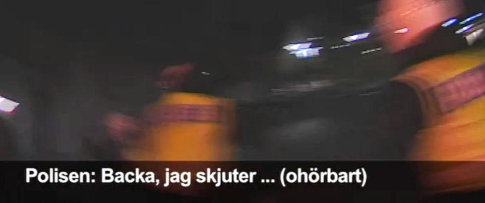 - Det er en 13-ring, ta ned pistolen