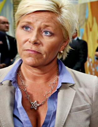 Siv Jensen: - Hyre er konturlst og tafatt