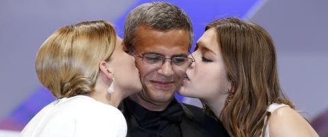 Gullpalmen til filmen som skildrer lesbe-sex
