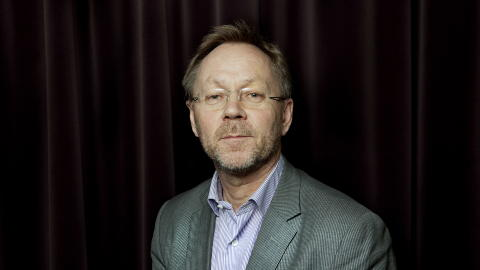 FORSVARER TRYKKING:  Dagbladets redakt�r John Arne Markussen forsvarer at avisa trykket tegningen. Foto: Nina Hansen / Dagbladet