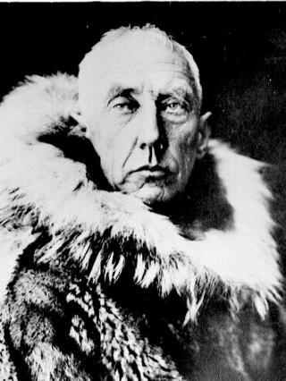 AMUNDSEN: Nordmannen kom f�rst til sydpolen etter et kappl�p mot briten Robert Scott. Foto: Nordisk film