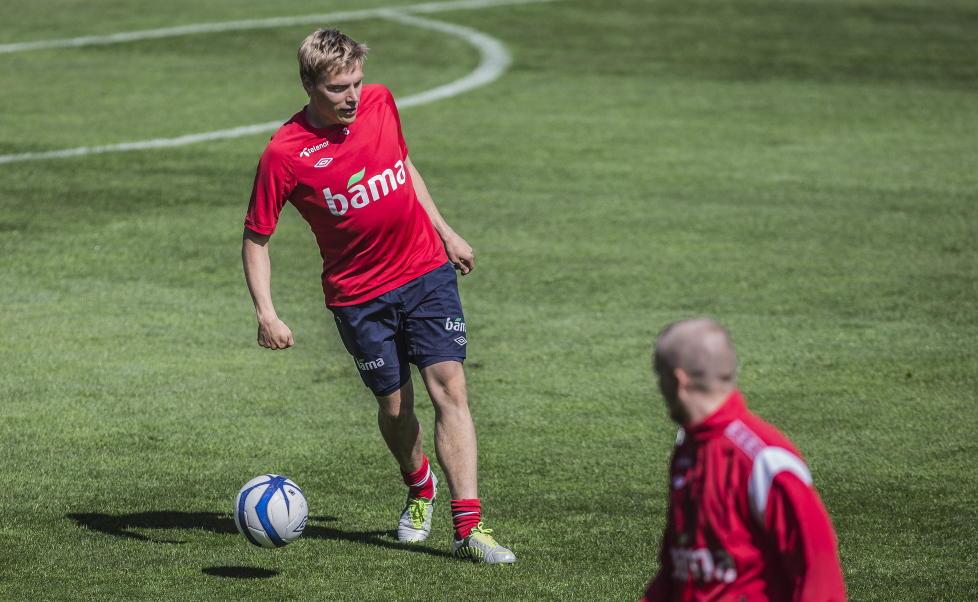 I EN BOBLE:   Ruben Ytterg�rd Jenssen har forhandlet om en overgang i dag. N� er han klar for 2. Bundesliga.  Foto: Stian Lysberg Solum / NTB scanpix