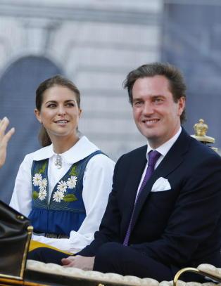 Stank truer prinsesse Madeleines bryllup