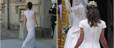 Sammenlikner svenske Sofia med Pippa Middleton