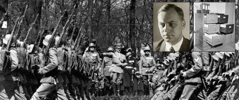 Nazi-dagbok forsvant p� mystisk vis etter Hitler-vennens d�dsdom