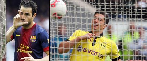 Lewandowski og Fabregas kan havne i United