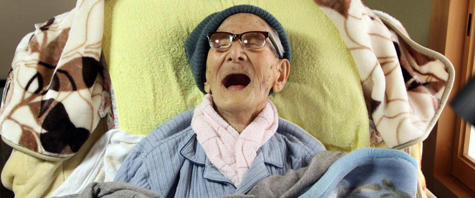 Verdens eldste mann er d�d 116 �r gammel